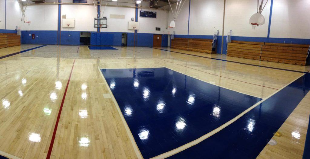Gym Floor Clean Cleaning